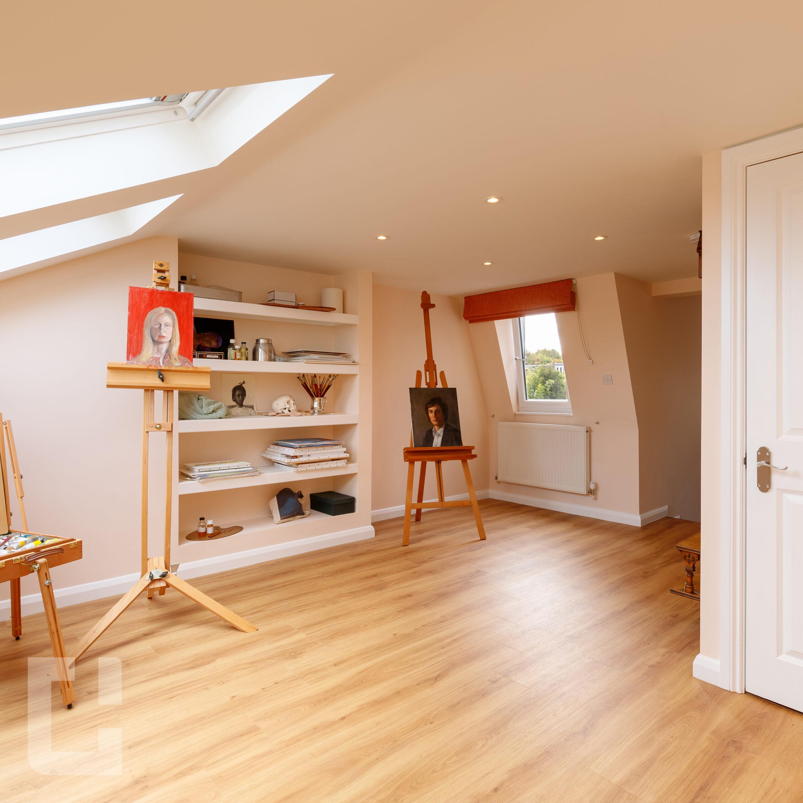 Mansard Loft Conversion Interior